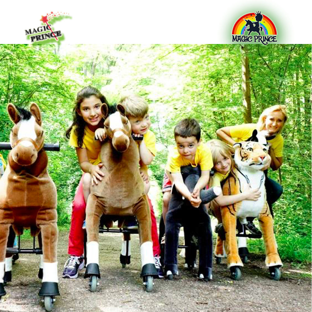 Shopping mall the mechanical horse pony for rental business, ride on animal pony, animal riding horse cycle