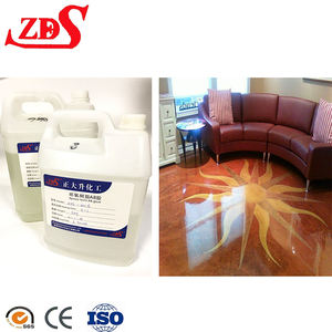 clear resin epoxy adhesive for Metallic floor/3d Floor/epoxy resin Gallon kit