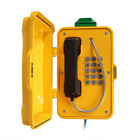 Weatherproof Phone with LED Light for Industrial environment Emergency VOIP Telephone