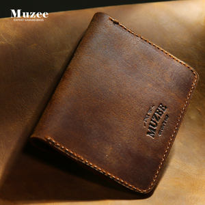 European style wallets 가죽 men custom logo genuine leather wallets 대 한 men ME1441