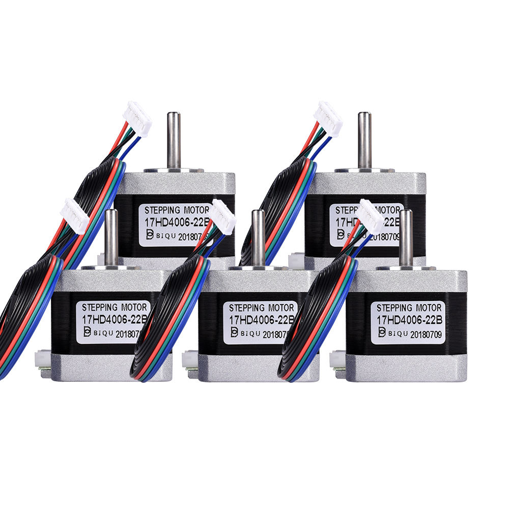 BIQU FCC Certification Nema 17 stepper motor hybrid DC 34mm and 40mm cheap 3d printer stepper motor