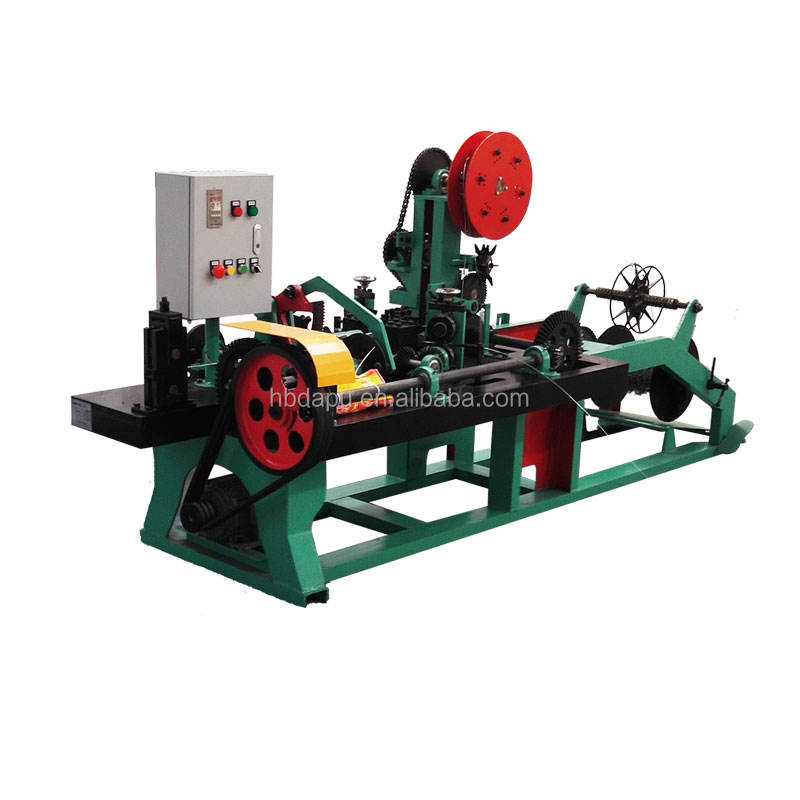 Factory price barbed wire fence machine for sale