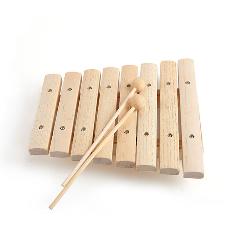 For Children Kid Musical Toys Xylophone Wisdom Juguetes 8-Note Music Instrument Educational