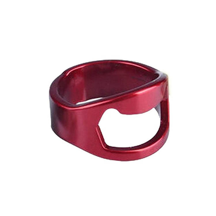 Bar accessory accessories gift ring bottle openers stainless steel factory wholesale tools beer opener ring