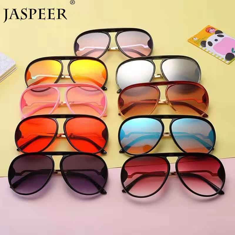 Jaspeer Kid metal sunglasses customized logo Children sunglasses 2019