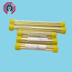 For EDM Drilling Machine Big Size Multichannel EDM Brass Copper Electrode Tube