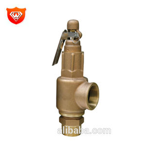 Full Lift Threaded Connection CW614 Brass Pressure Safety Relief Valve