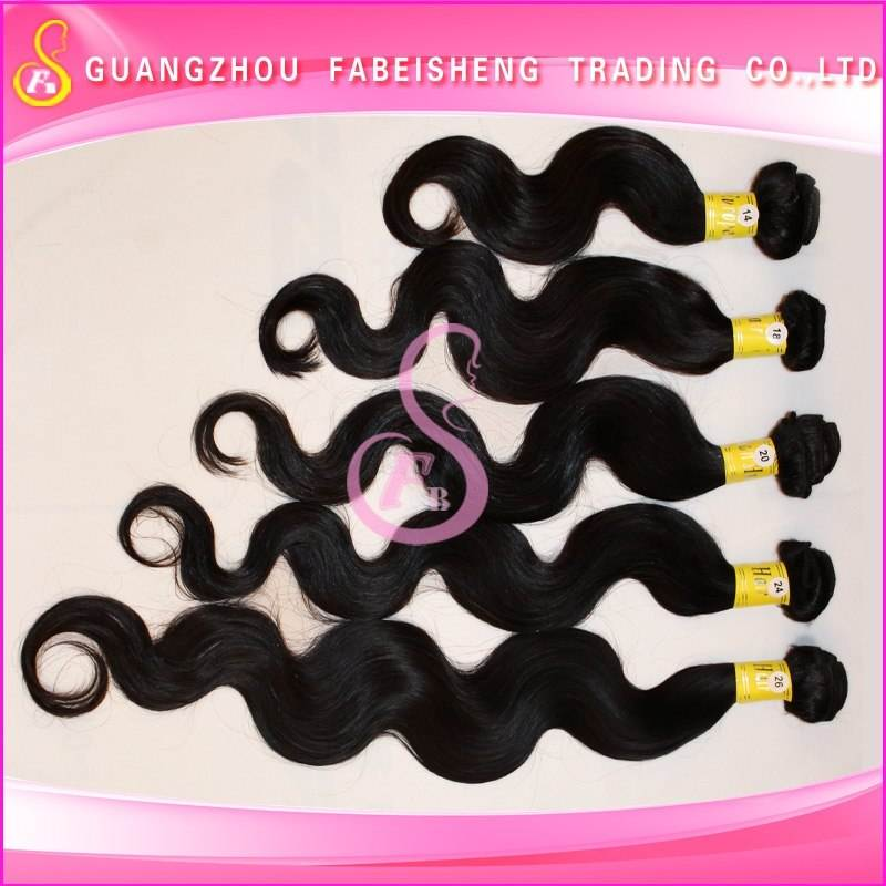 Wholesale top quality 100% mongolian human hair blend weave