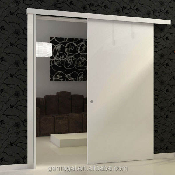 Interior wooden sliding door