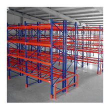 Heavy duty warehouse selective steel pallet rack