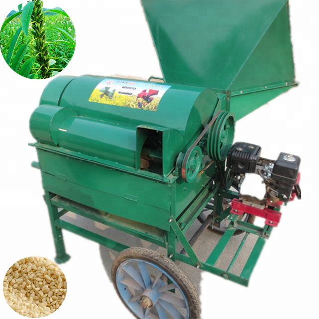 Hirse schälen maschine/sesam soja thresher