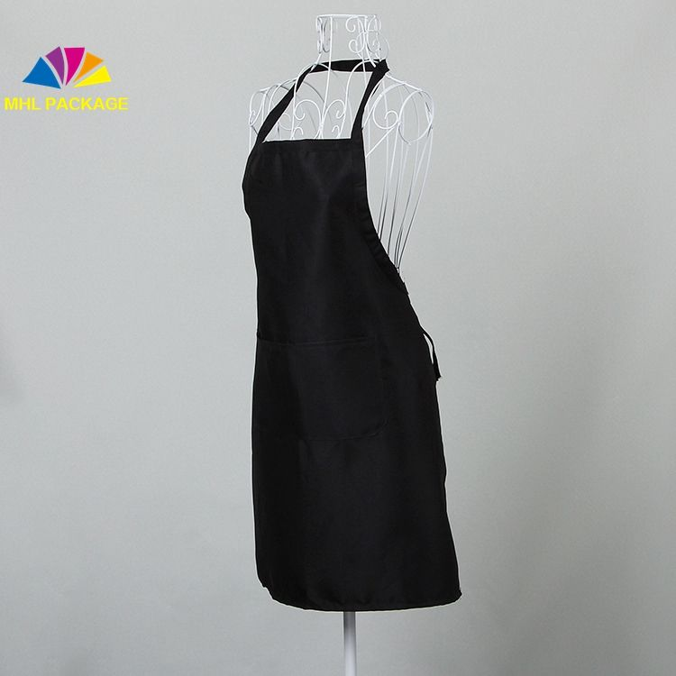Wholesale custom design women kitchen plain apron custom apron blank apron
