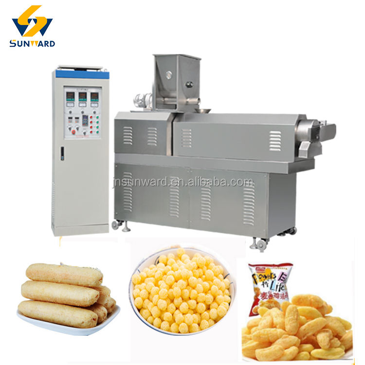 Hot sale automatic extruding snack food machine fruit loops machine