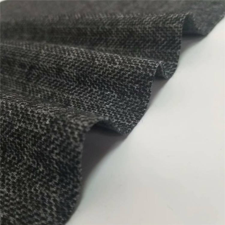 Cheap High quality wool cashmere plain wool 50% Polyester 50%suit fabric for man and woman coat Stock lot