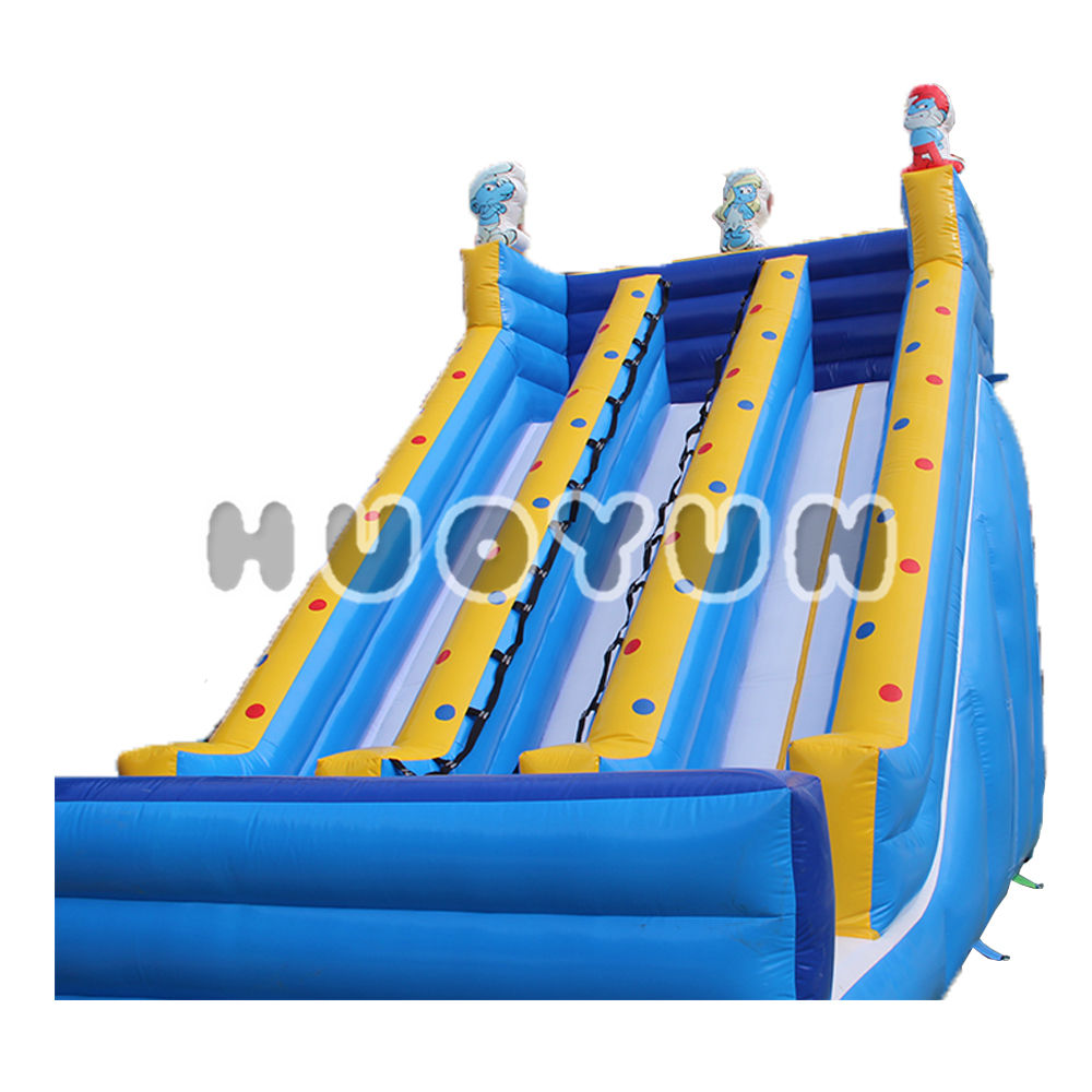 China Anak-anak Inflatable Plastik Playschool Slide Kering untuk Taman Bermain