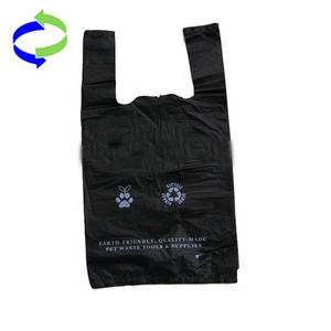 Biodegradable Dog Poop Packaging Usage Printed Plastic Dog Poop Waste Bags