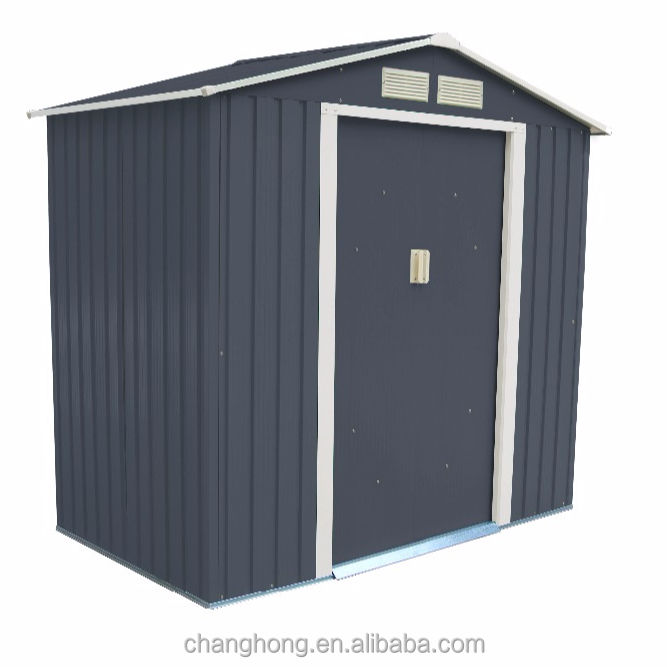 6x4ft Small Size Metal Shed
