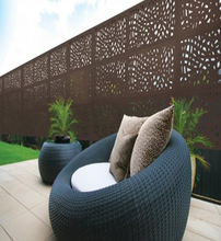Garden House WPC Plastic Balcony Fence Wood Plastic Composite Fence