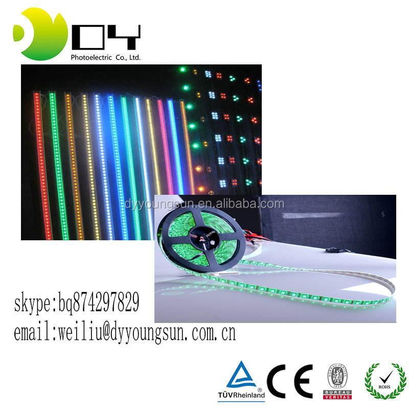 Одноцветный 5050 лента 60 светодиодов/m 300 Светодиодов Холодный Белый открытая DC12V SMD5630 LED