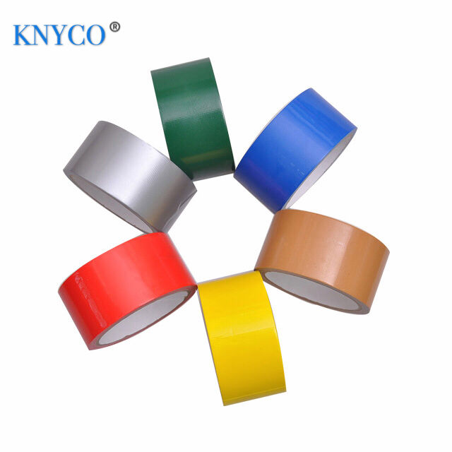 Heavy duty protection 70 mesh silver cloth duct tape for duct wrapping and bonding