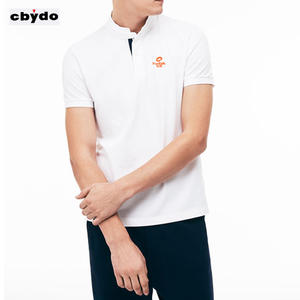 2018new cotton pique shirt Custom logo Wholesale new style shirts