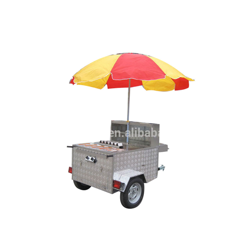 JX-HS120 Street Mobile Hot Dog Food cart for Sale