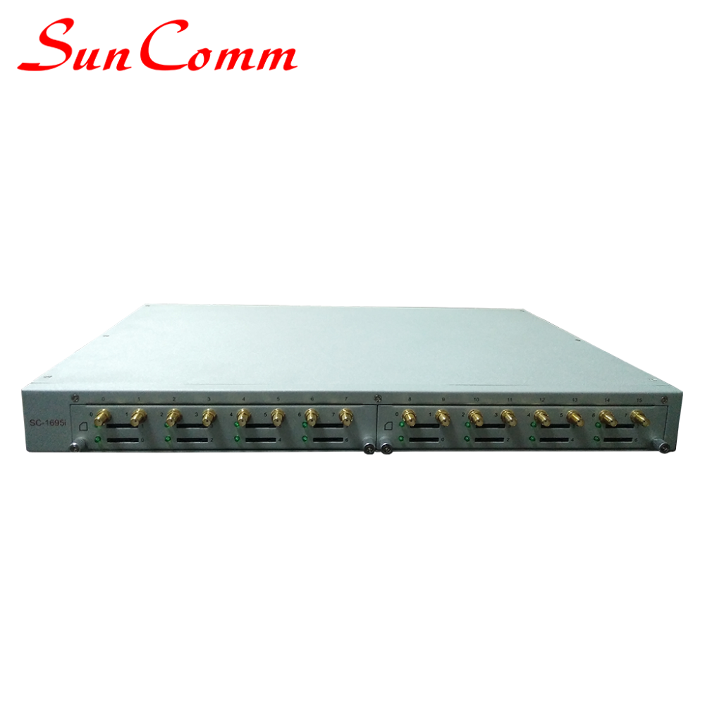 SC-1695-iG SIP GSM SIM BOX VoIP Gateway GoIP with SMS Server