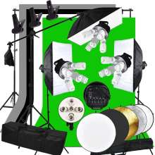Photography Studio Light Tent Kit 3375W Photo Studio Continuous Light kit Softbox