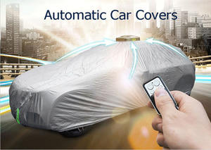 Practical PEVA waterproof automatic car vehicle cover for sun/ snow/ frost/ rain/ sunshine/protective car covers