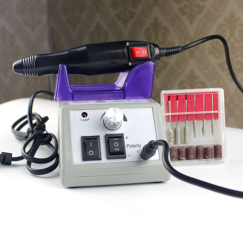 2018 promotional nail gel electric nail drill machine portable nail drill