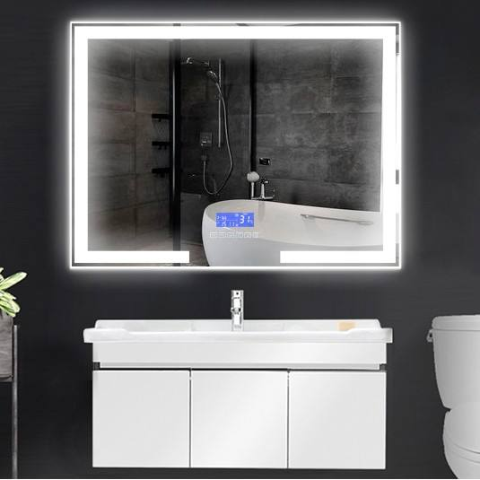 Touch Screen Wastafel Smart bluetooth Led bad Spiegel voor badkamer