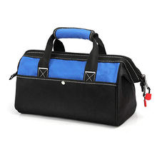 Tool Bag 13-inch Zip-Top Wide Open Mouth for Tool Organizer and Storage