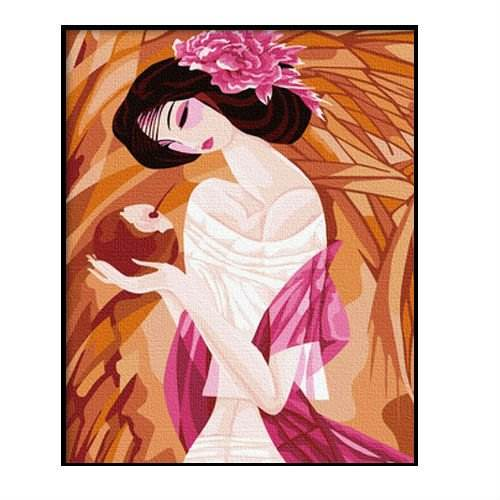 Wholesales diy painting 현대 women picture painting nude women oil painting