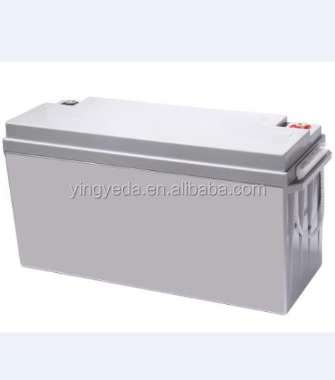 Solar Panel Battery, Gel sealed reaction over 99.9%, Long Life Solar Battery OPZS battery 150AH