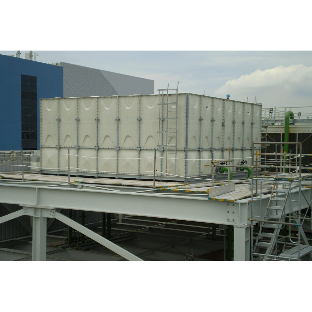 Tangki Air Serat Kaca GRP Sectional Water Storage Tanki