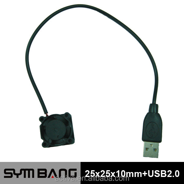 D2510-K-USB 25mm 5v usb mini ventilador