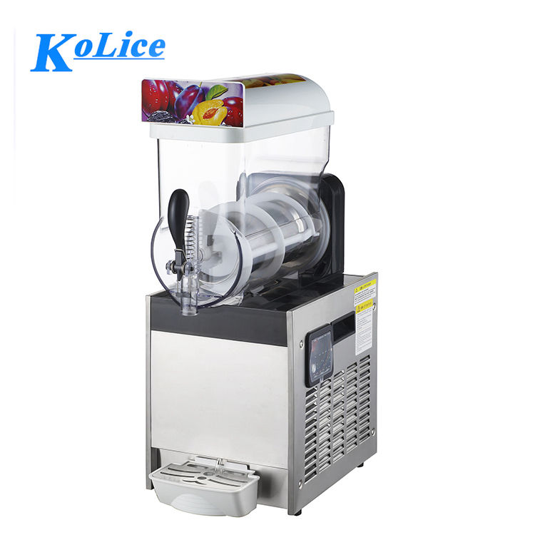 1bowl 15Lx1 small mini slush juice machine price china /slush machine commercial/ slurpee machine