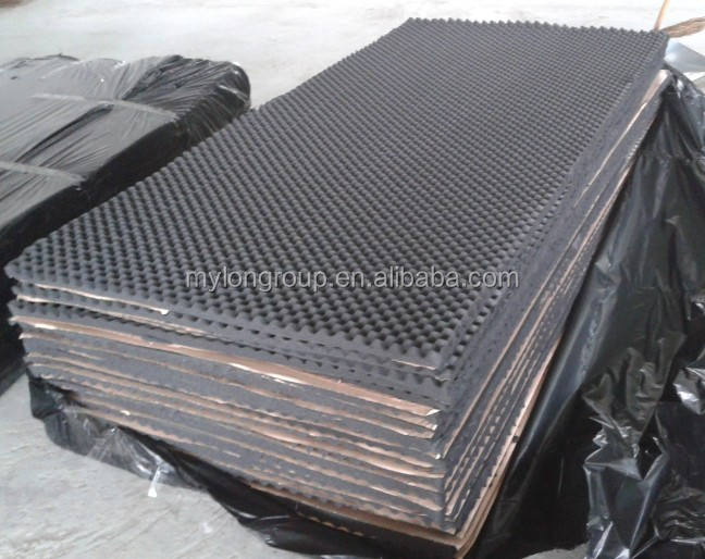 High quality 5cm thickness acoustic aluminum foam wall panel