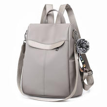 Backpack Female 2019 New Backpacks For Women Black Travel Backpack Soft nylon School Bags for Teenage Girls