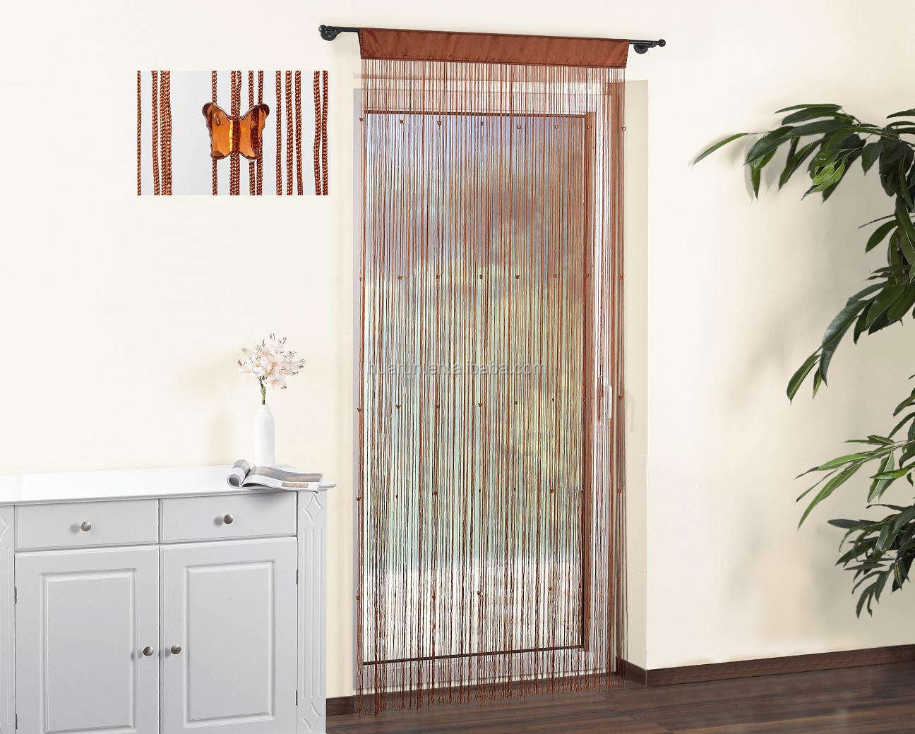 thread door curtain