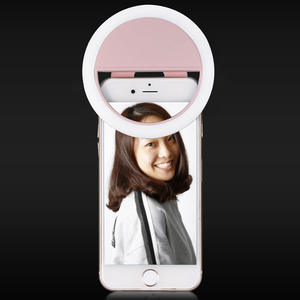 Recharge Mobile phone fill ring light LED self-timer fill light Flash beauty female anchor self-timer artifact selfie light