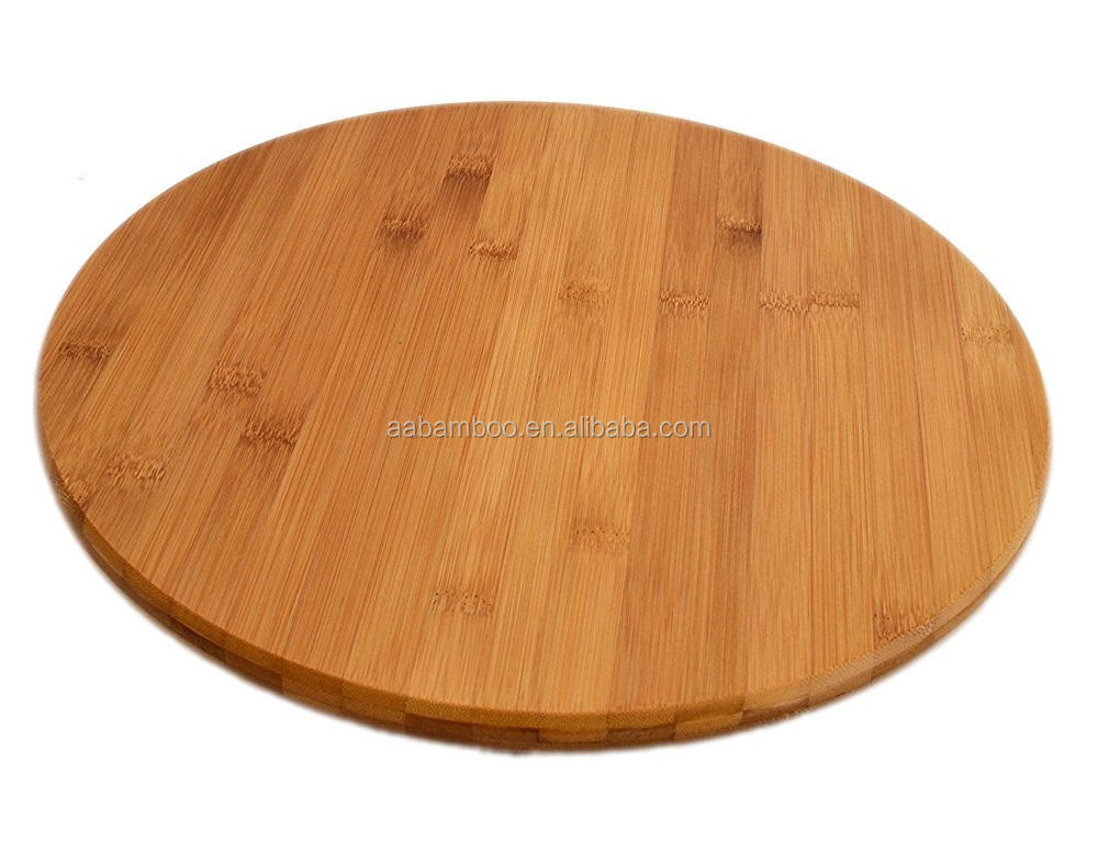 Lazy susan roterende bamboe houten lade