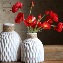 Home furnishings desktop accessories ornaments porcelain flower vase,modern round handmade decorative ceramic vase