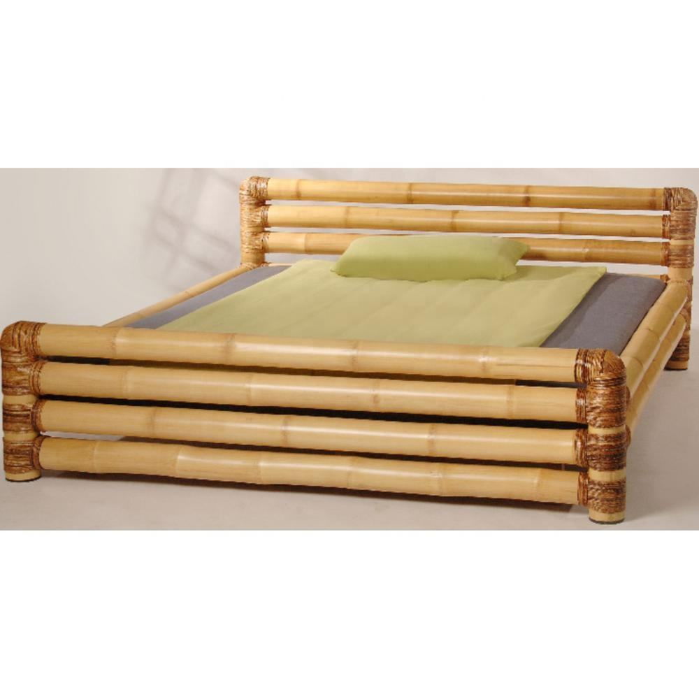 natural bamboo bed