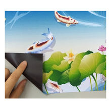 A4 size white gloss inkjet printable magnetic photo paper