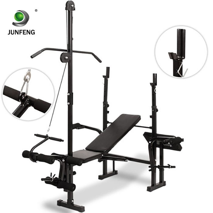 Hot sale China commercial exercise bench home gym equipment adjustable weight bench