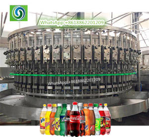 Commercial Carbonated Water Maker, Complete CSD Water Production Line, Carbonated Drinks Bottling Plant