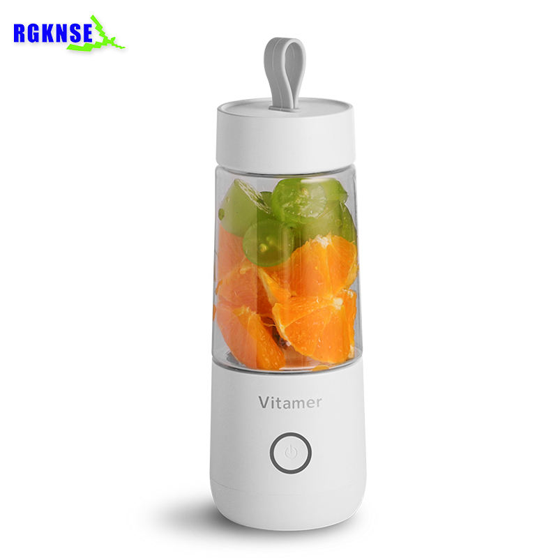 2019 VITAMER Personal Blender Mini Portable Blender 350ml USB Juicer Cup Rechargeable Fruit Vegetable Tools