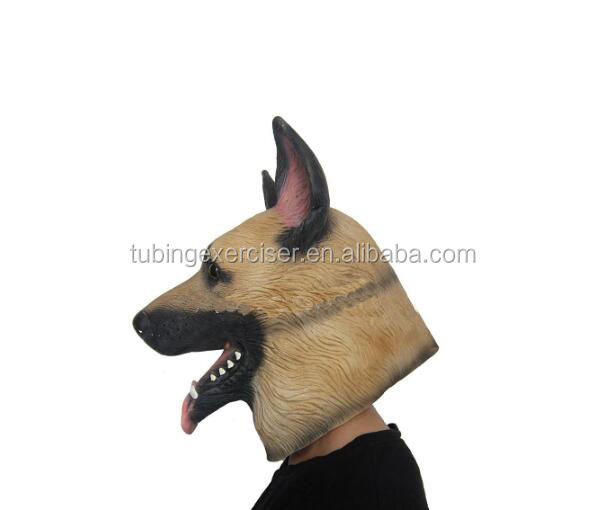 Husky Head Mask Latex Halloween Mask Full Range of Full Head Animal Masks
