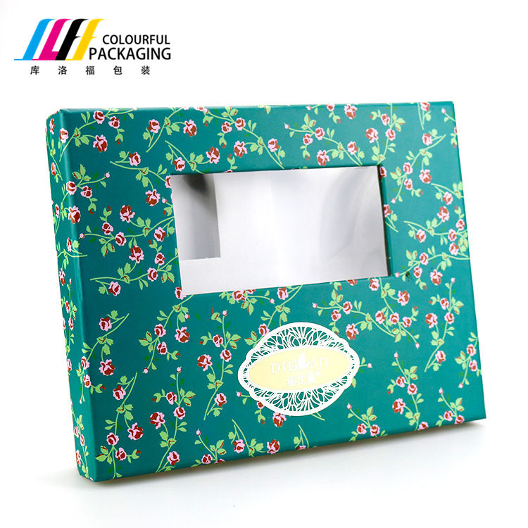 Beautiful Color Printing Gold Stamping Lid And base Box With Insertable EVA Gift Box
